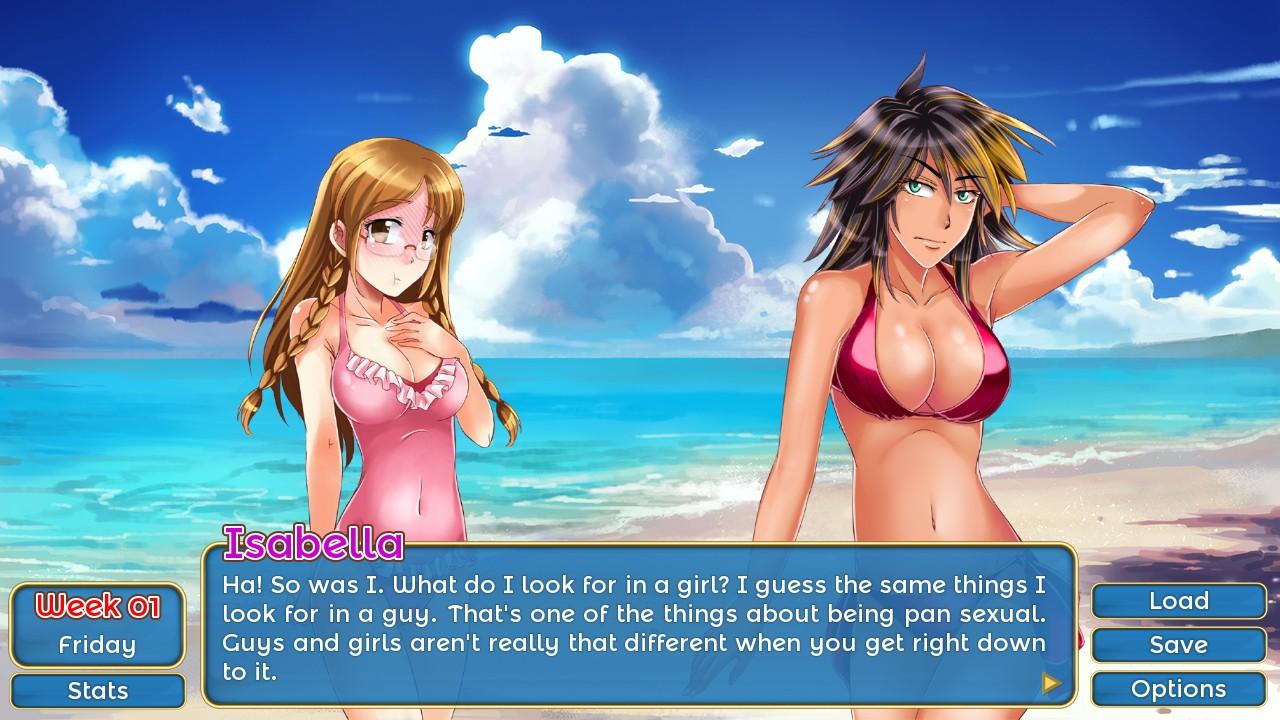 Dating simulators like huniepop 3