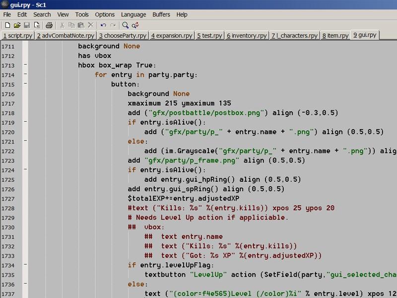 Professional developer's look at Ren'Py | Computer Games